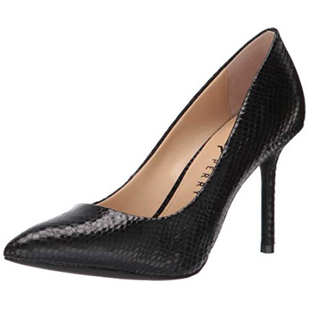 Katy Perry Women's The Sissy Pump, black, 9 Medium US