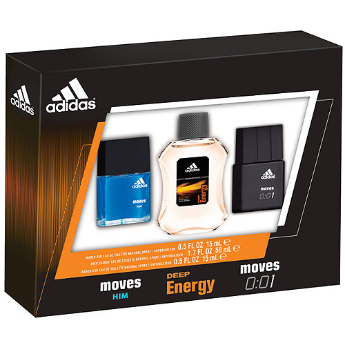 Adidas Fragrance Gift Set for Men, 3 piece