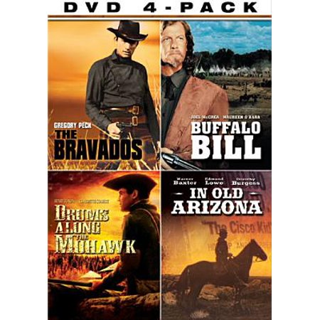 Western 4-Pack: Buffalo Bill / The Bravados / Drums Along The Mohawk / In Old Arizona (Arizona Buffalo)
