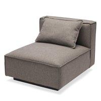 MoDRN Naturals Wheaton Modular Sofa Armless Chair, Multiple Colors