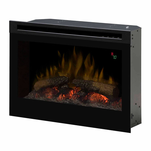 """Wesco Dimplex DF2524L 25"""" Electric Flame Firebox with On-..."""