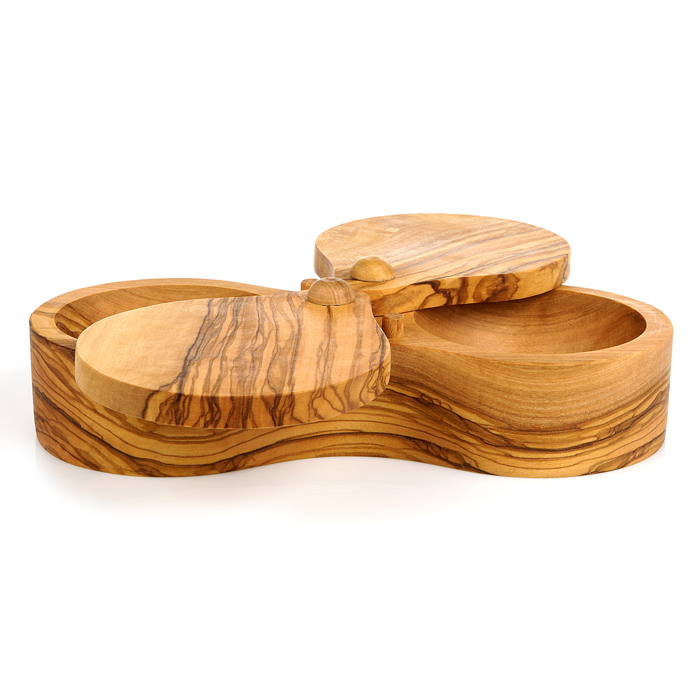 Berard French Olivewood Double Salt Keeper