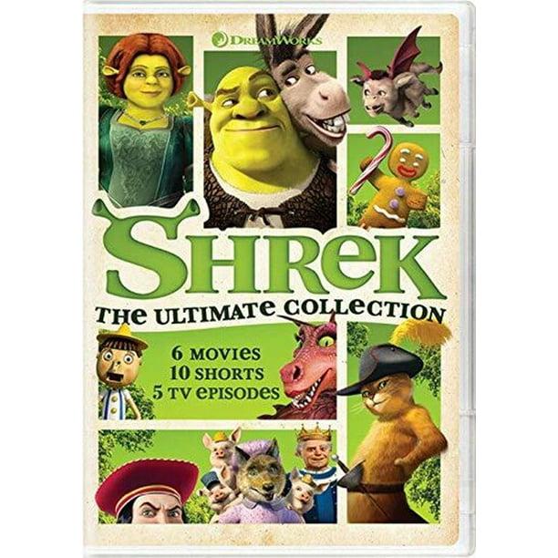 Shrek The Ultimate Collection Dvd Walmart Com Walmart Com