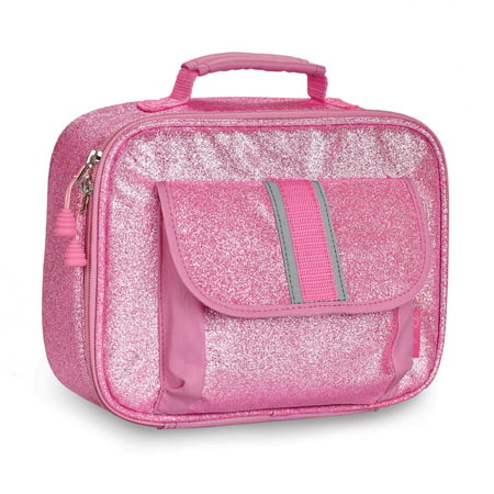 Oil Cloth Lunch Bag (Bixbee Pink Sparkalicious Lunchbox)