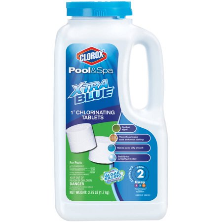 Clorox Pool Amp Spa One Inch Xtrablue Long Lasting