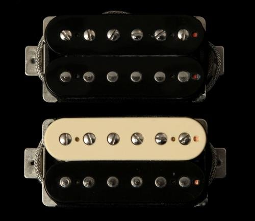 Seymour Duncan 11014-15-Z Antiquity JB Jazz Set Zebra by Seymour Duncan