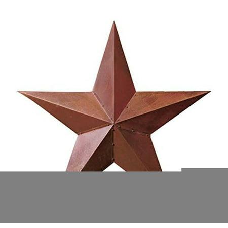 1 X 36 Rustic Dimensional Barn Star   Brown  3 Feet In Diameter  By Ltd Commodities