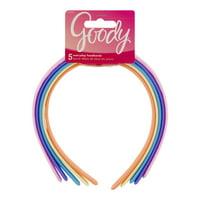 Goody Everyday Headbands Colors May Vary 5 CT