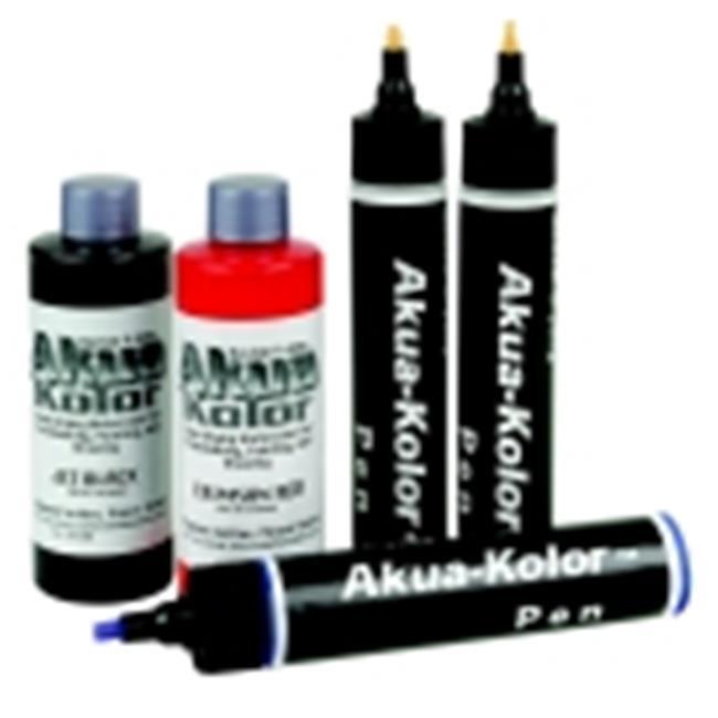 Akua Kolor Non-Toxic Water Based Monotype Ink - 4 Oz. - Phthalo Green Yellow