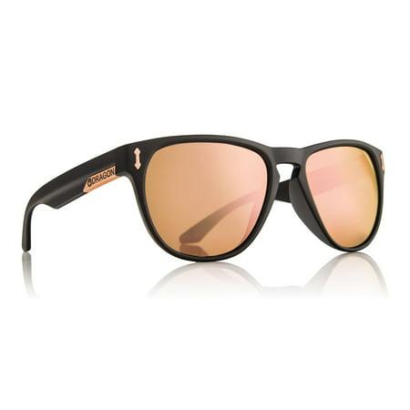 Dragon Alliance 720-2254 Marquis Matte Black / Rose Gold (Dragon Ball Z Sunglasses)