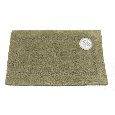 Large-Sized, Reversible Cotton Bath Mat in