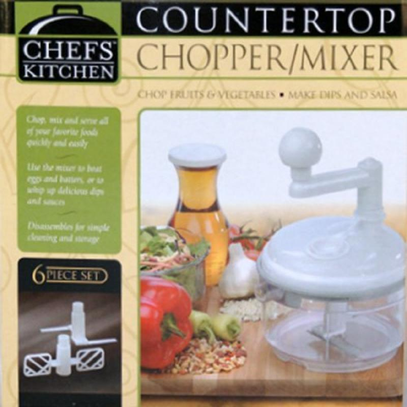 Midwest Trading Group Chefs' Kitchen Countertop Chopper and Mixer