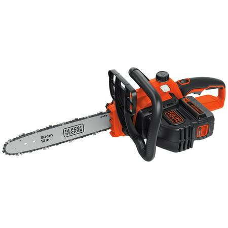 "BLACK+DECKER LCS1240 40V MAX* 12"" Cordless Chain Saw"