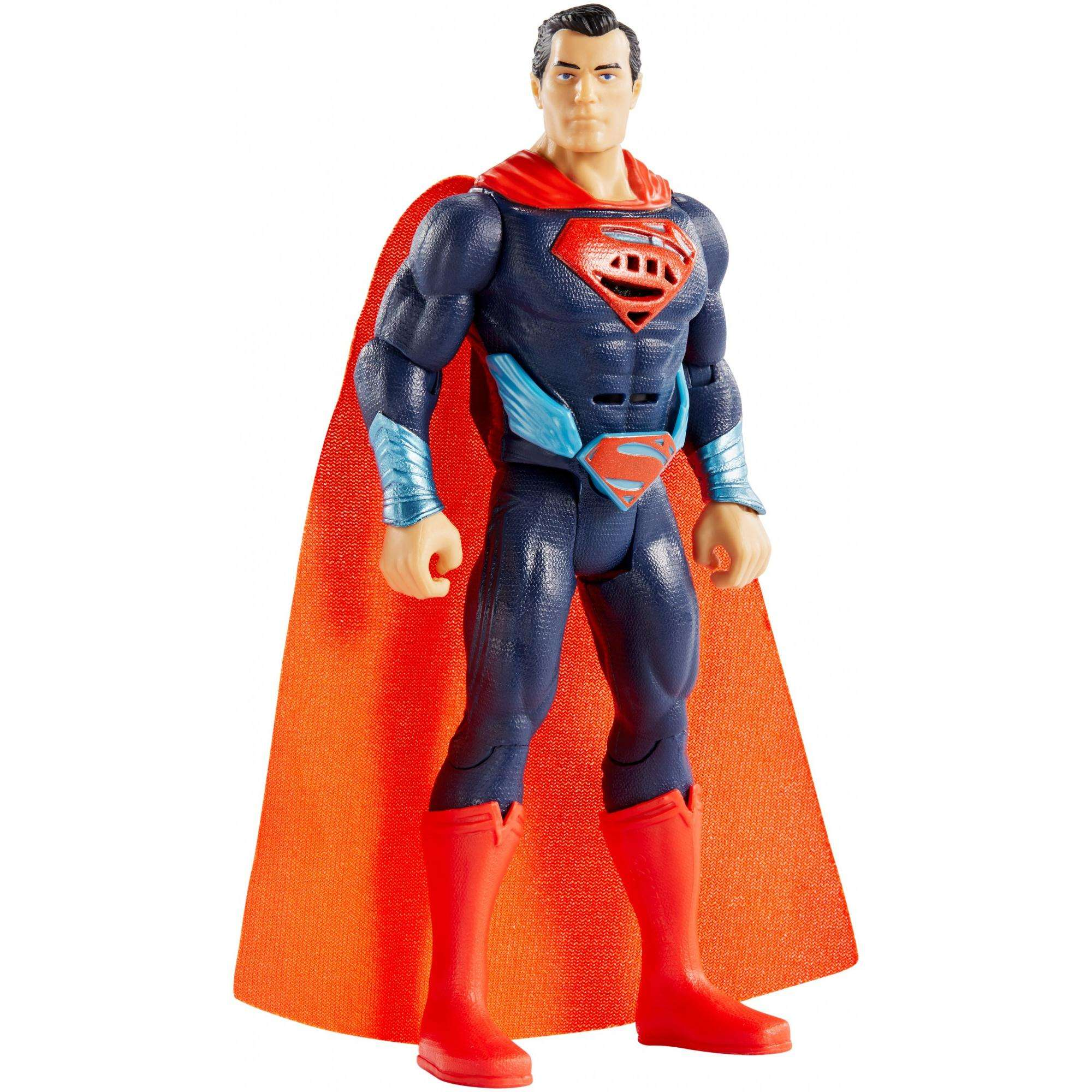 DC Justice League Talking Heroes Stealth Attack Superman Figure