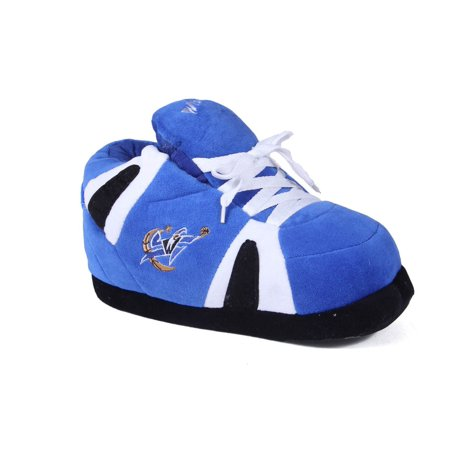 7862bd2fe43b81 Happy Feet Mens and Womens NBA Washington Wizards - Slippers - Large -  Walmart.com