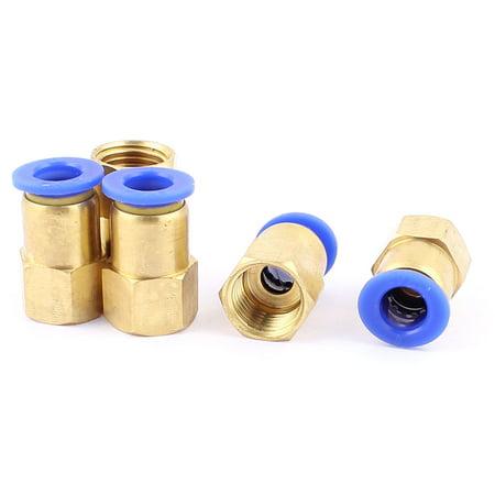 5 pcs 1/4 BSP Filetage à 8mm pousser air pneumatique dans raccord tube connexion rapide - image 1 de 1