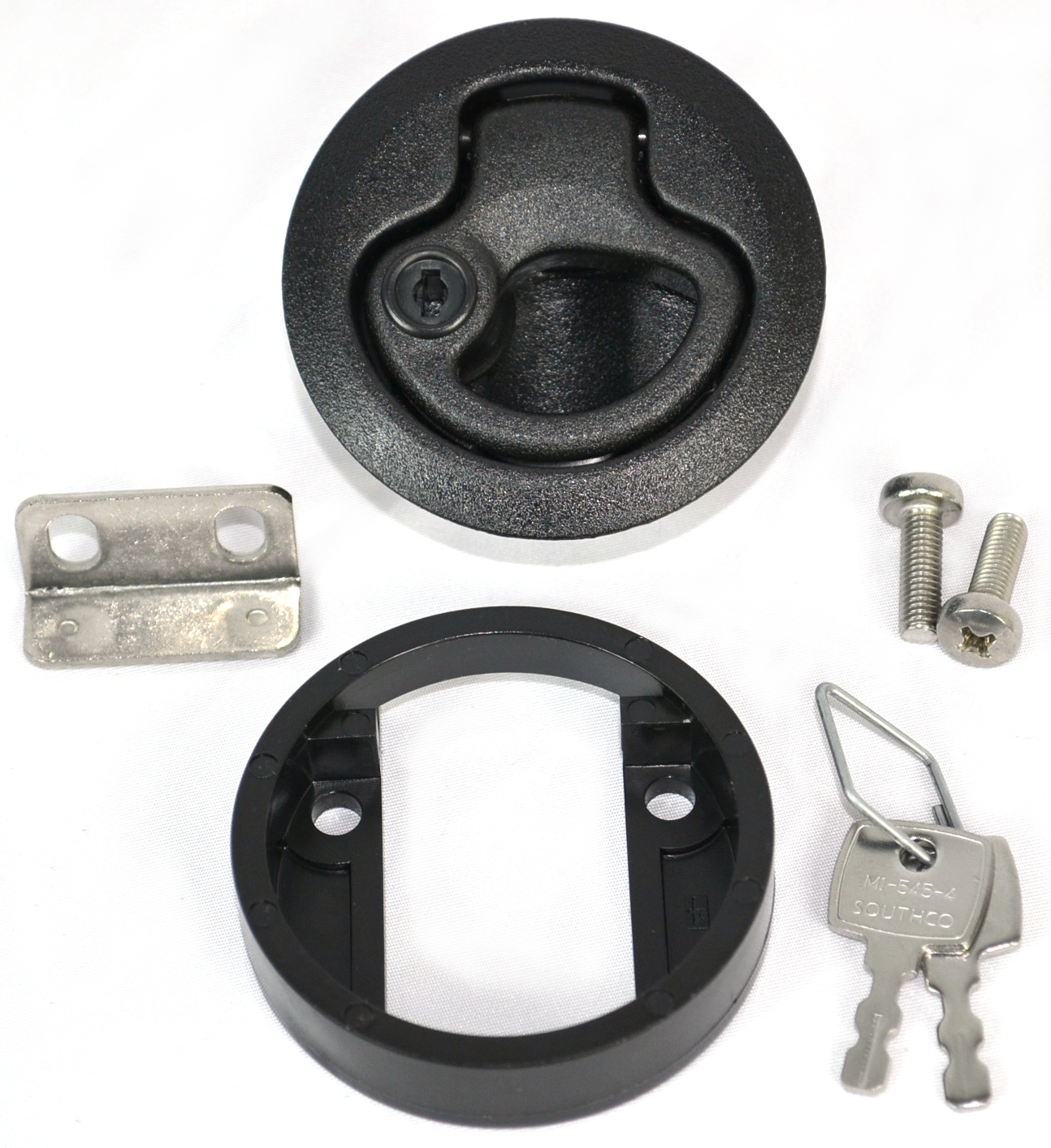 Locking Southco Inc M1-41 Flush Pull Latch .075 to .275 Panel Thickness