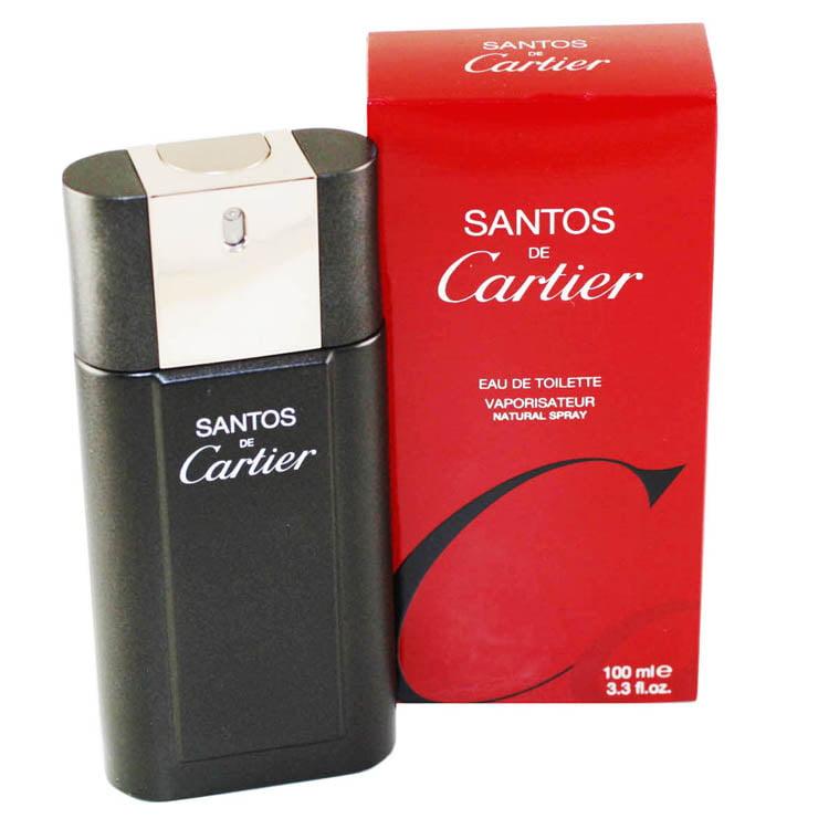 Santos De Cartier Eau De Toilette Spray 3.3 Oz / 100 Ml