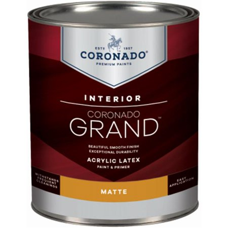 Benjamin Moore & Co-Coronado 220561 Grand Matte Paint - Tint Base,