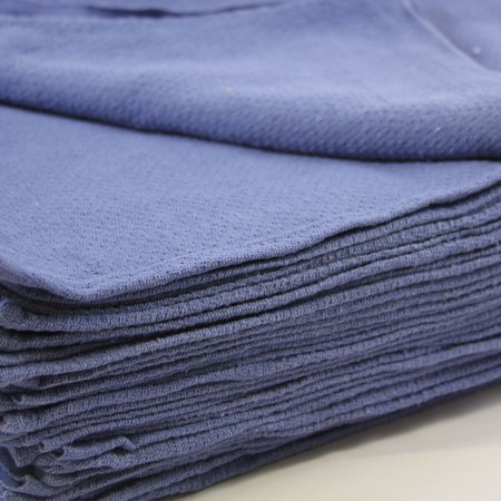 Mimaatex Brand-24 Pack-New Huck Towels Blue-100% Cotton-16x24 inch Towels