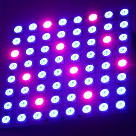 new WS2812B 8*8 64-Bit Full Color 5050 RGB LED Lamp Panel