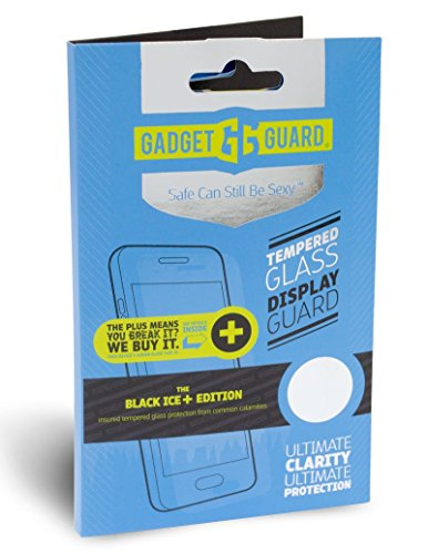 Gadget Guard Insured Tempered Glass Screen Protector For iPhone 6 6s 7 Plus by Gadget Guard
