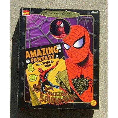 famous covers amazing spiderman misb 1997 toy biz