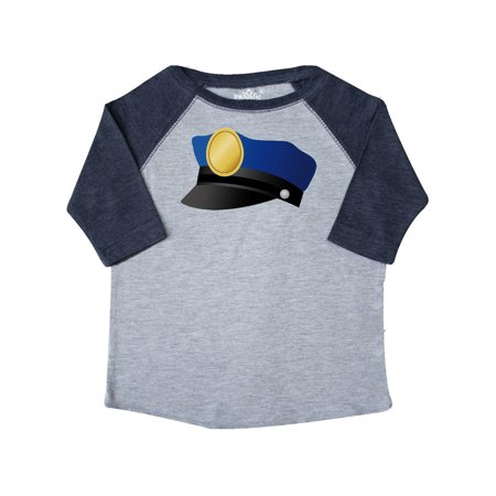 Police Hat Toddler T-Shirt (Kid's Police Hat)