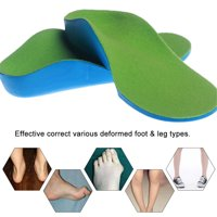 Orthopedic Insoles for Shoes Flat Foot Arch Support Orthotic Pads Correction Feet Health Care
