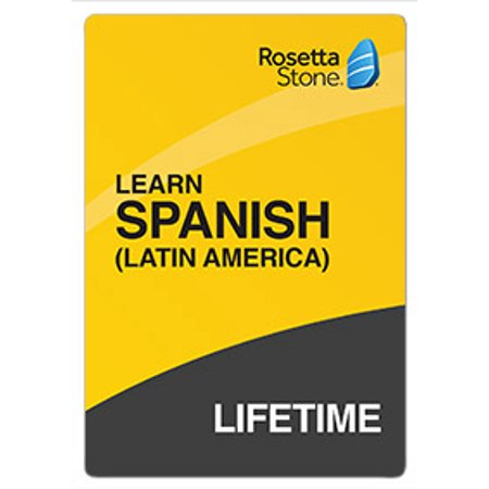 Rosetta Stone: Learn Spanish (Latin America) with Lifetime Access [Email Delivery] ()