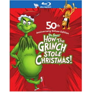 Dr. Seuss' How the Grinch Stole Christmas (Deluxe Edition) (Blu-ray + Digital Copy)