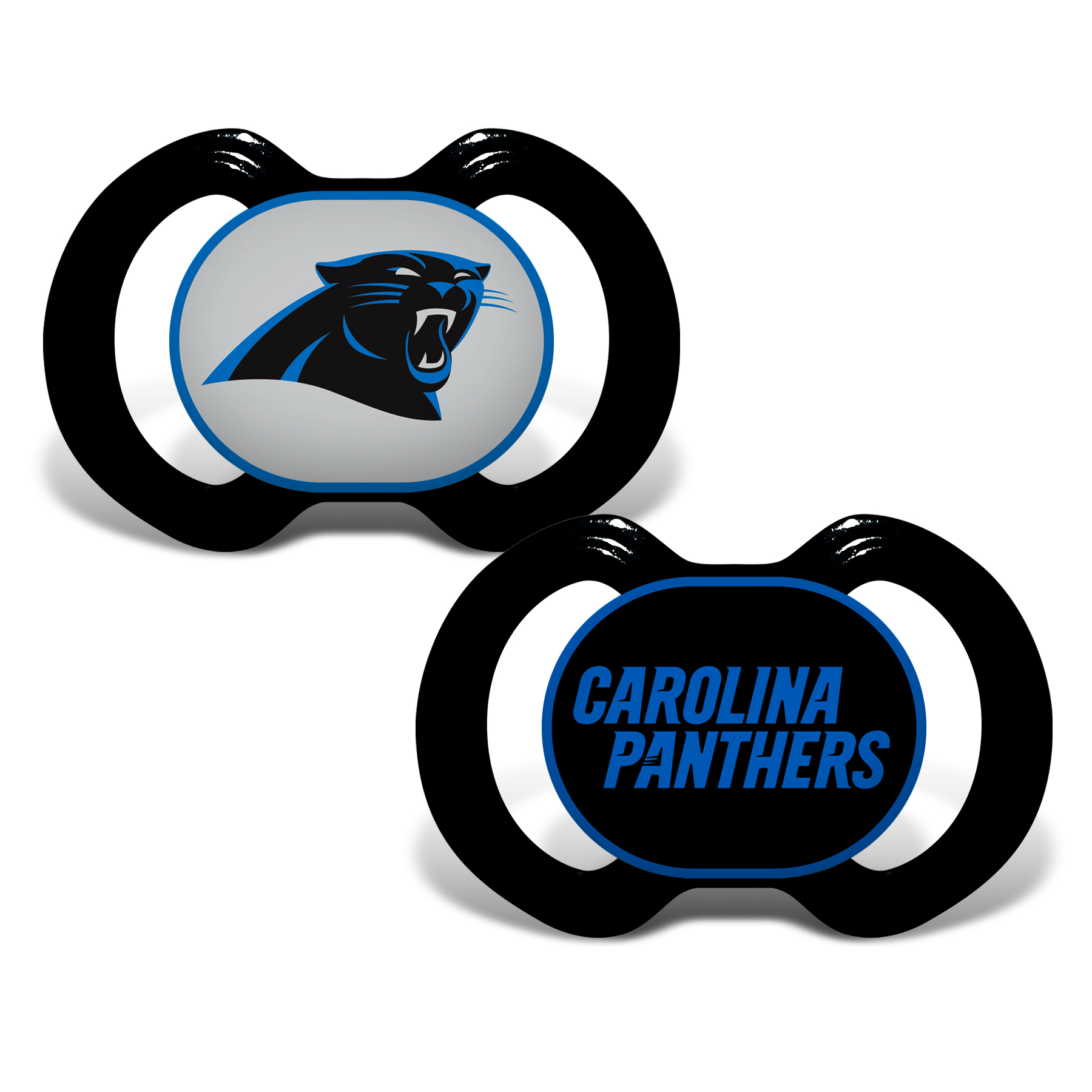 NFL Carolina Panthers 2-Pack Pacifiers