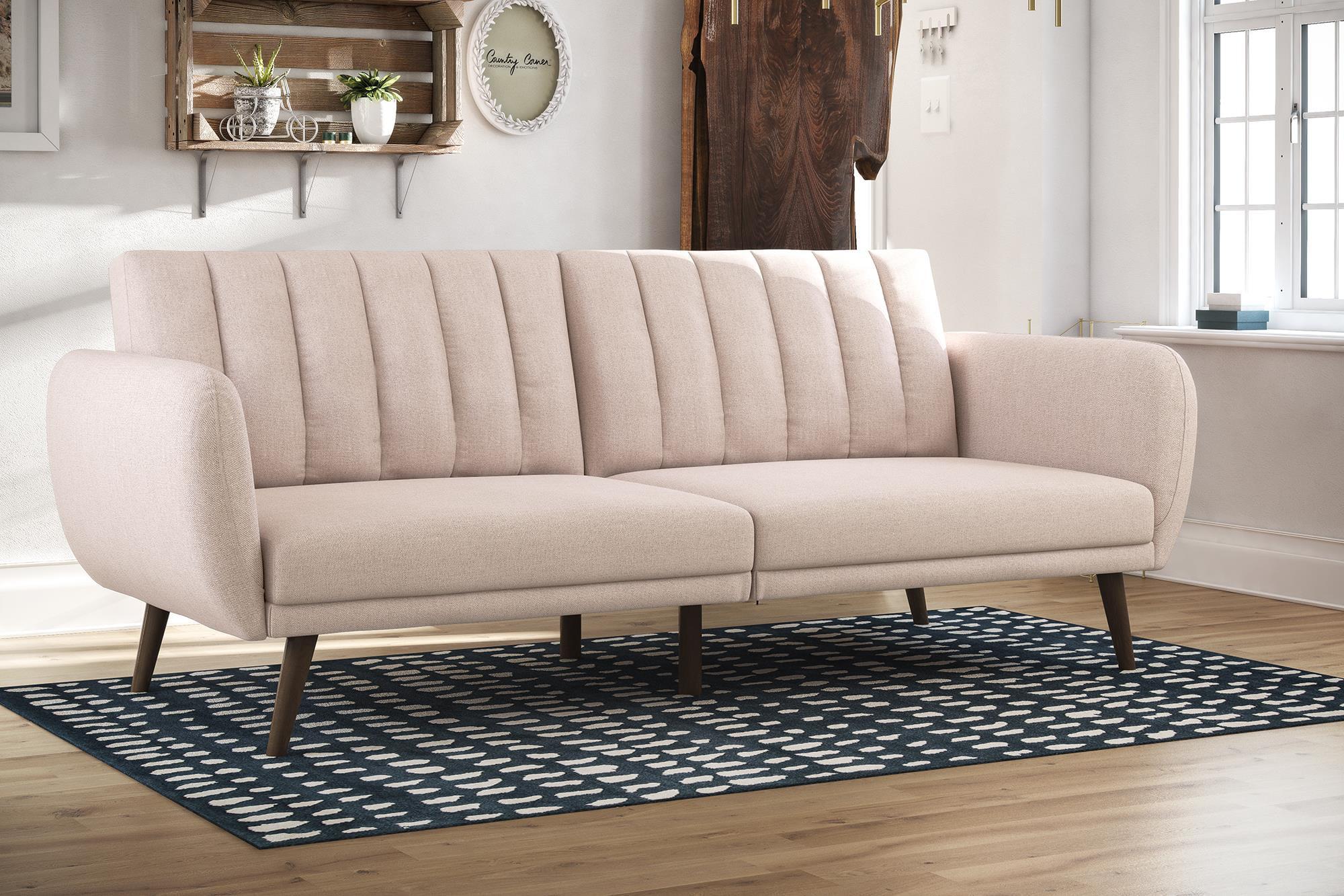 Novogratz Brittany Linen Futon, Multiple Colors by Dorel Home Products