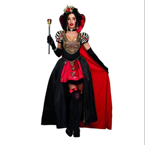 Queen Of Hearts Costume Dreamgirl 9908 Black/Red