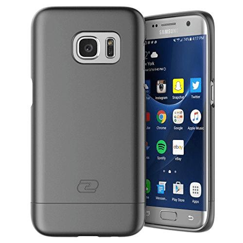 Samsung Galaxy S7 EDGE Case, Encased (SlimShield Series) Ultra Thin Hybrid Cover
