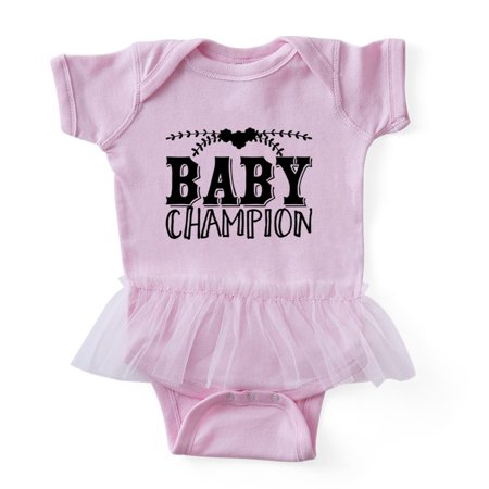 CafePress - Baby Champion - Cute Infant Baby Tutu Bodysuit