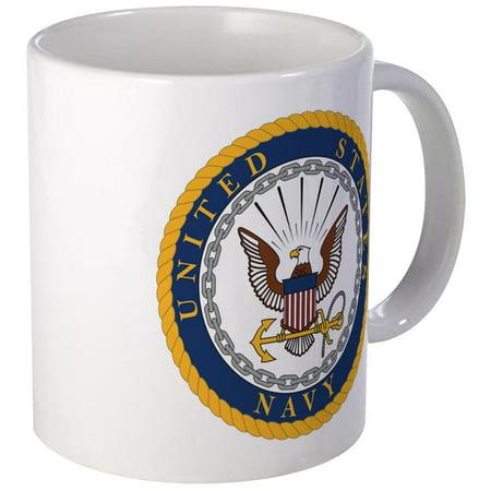 CafePress - United States Navy Emblem Mug - Unique Coffee Mug, Coffee Cup CafePress