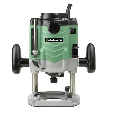 Hpi Collet - Metabo HPT M12VEM 3-1/4 HP Variable Speed Plunge Router with 1/2 in. Collet