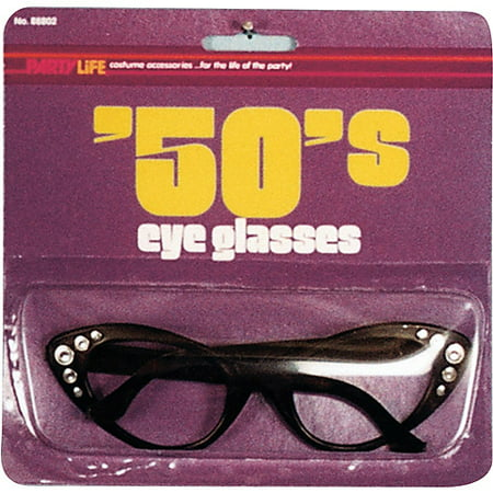 50s Style Glasses Halloween Accessory (Strictly Style Halloween)