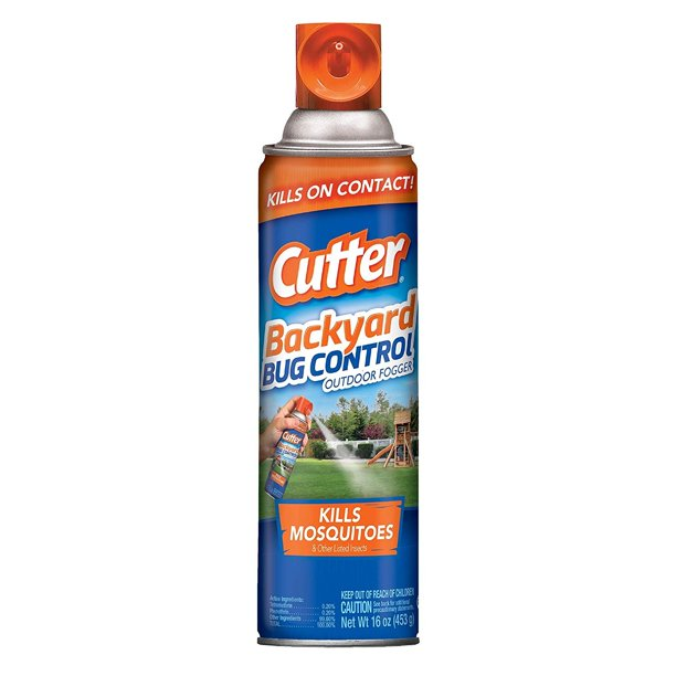 Cutter Backyard Bug Control Outdoor Fogger, 16-ounce, 12 ...