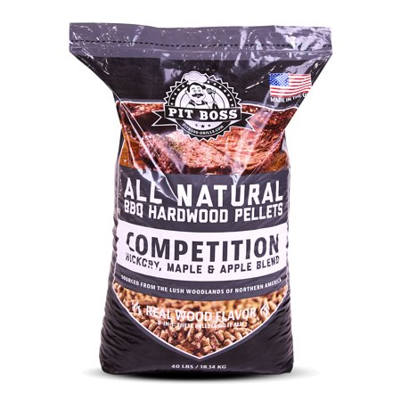 Pit Boss Bbq Wood Pellets Competition Blend  40 Lbs