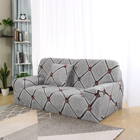 """1/2/3/4 Seater Elastic Sofa Cover Stretch Slipcover Couch #B 92""""-122"""" - image 1 of 8"""