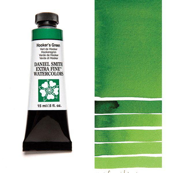 Daniel Smith Extra Fine Watercolors - Hooker's Green, 15 ml Tube