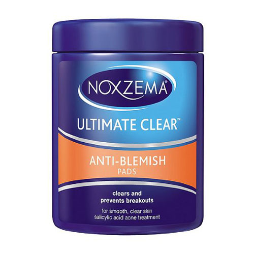Noxzema Triple Clean Antiblemish Pads With Medicated Salicylic Acid - 90 Ea, 6 Pack