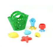 Green Toys Tide Pool Baby Toy Gift Set, Green, 7 Pc