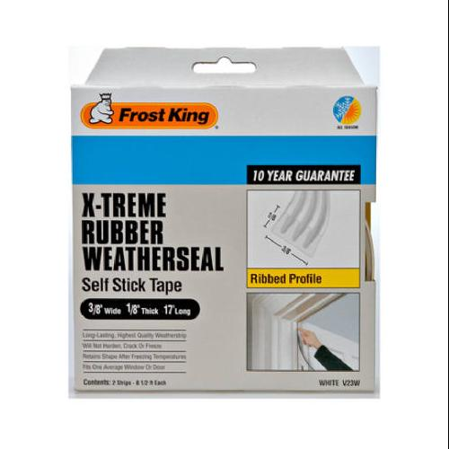WEATHERSEAL 3/8X1/18X17 WHITE