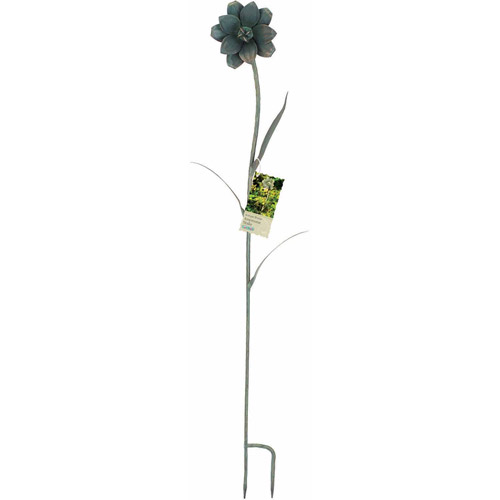 World Source Partners 8430 Metal Anemone Garden Stake by Garden Stakes