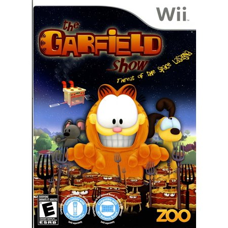 Garfield Halloween Game 1 (The Garfield Show - Threat of the Space Lasagna - Nintendo Wii, By Zoo Games From)