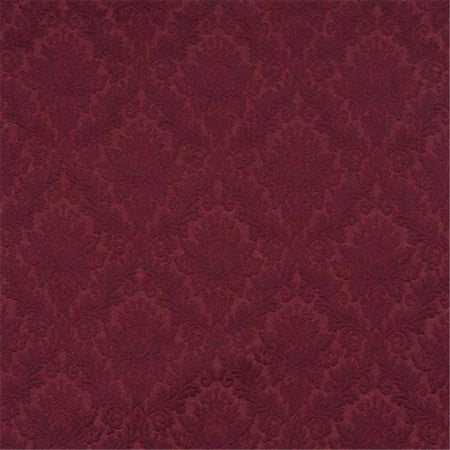 Designer Fabrics E536 54 in. Wide Burgundy, Floral Jacquard Woven Upholstery Grade Fabric - image 1 of 1