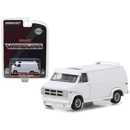 1983 GMC Vandura Van White Hobby Exclusive 1/64 Diecast Car Model by Greenlight (Hobby Stores Oahu)